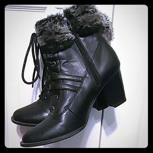 Women's  St. John's Bay ankle boots heels 7.5